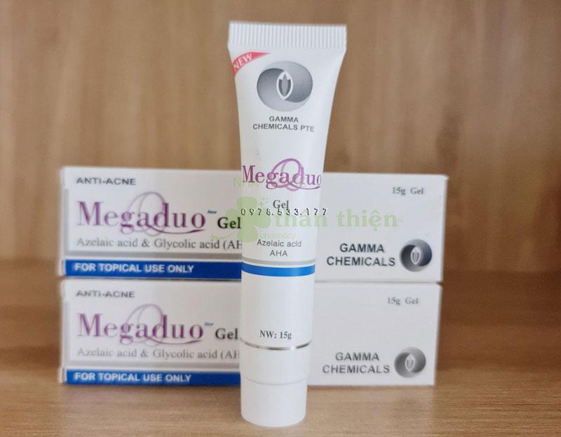 Megaduo Gel Plus, giúp ngừa mụn trứng cá, ngừa thâm