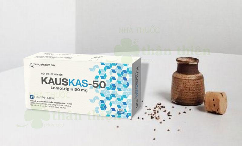 Thuốc Kauskas-50, chỉ định điều trị phối hợp động kinh toàn thể
