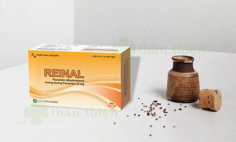 Thuốc Reinal, điều trị chứng thiếu tập trung, rối loạn trí nhớ