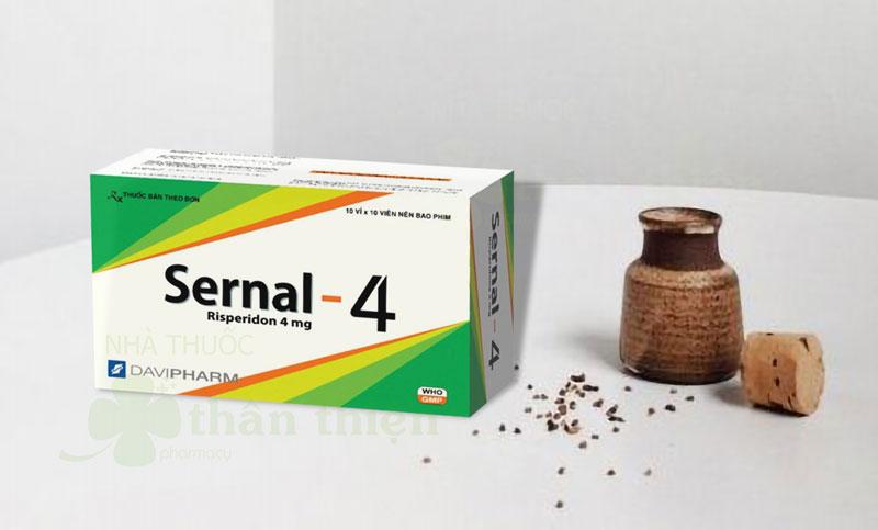 Thuốc Sernal-4, điều trị tâm thần phân liệt cấp và mãn tính