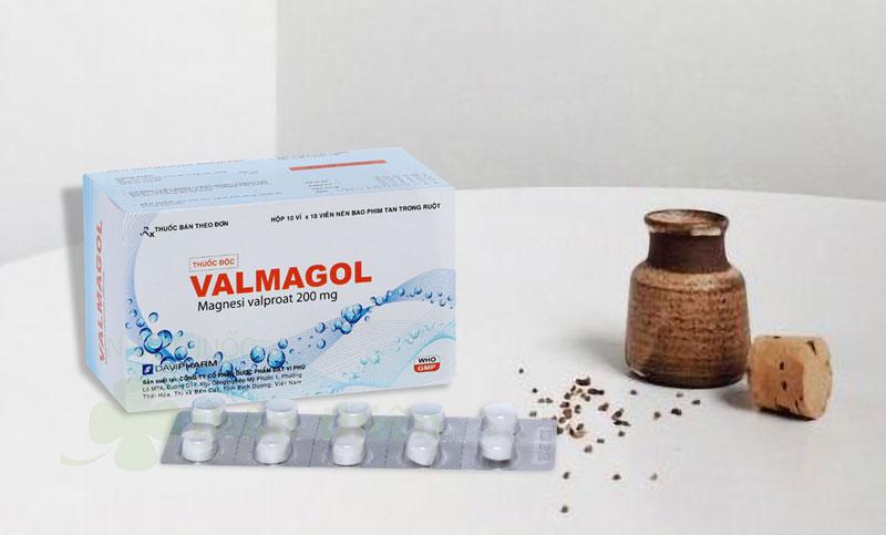 Thuốc Valmagol, điều trị động kinh nhỏ, cơn động kinh giật