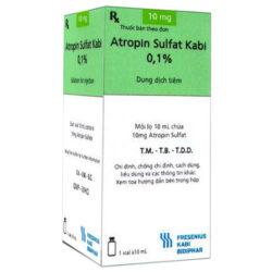 Atropin sulfat kabi 0,1%