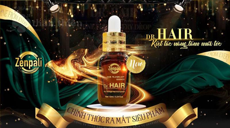Dr. Hair Zenpali, hỗ trợ dưỡng tóc, làm mượt tóc, ngăn ngừa rụng tóc