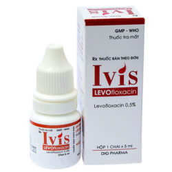 Thuốc nhỏ mắt Ivis Levofloxacin