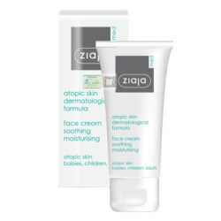 Ziaja Med Atopic Skin Dermatological Formula Face Cream Soothing Moisturising