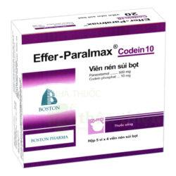 Effer-paralmax codein 10