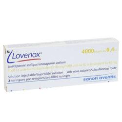 Lovenox 4000IU anti-Xa/0,4ml